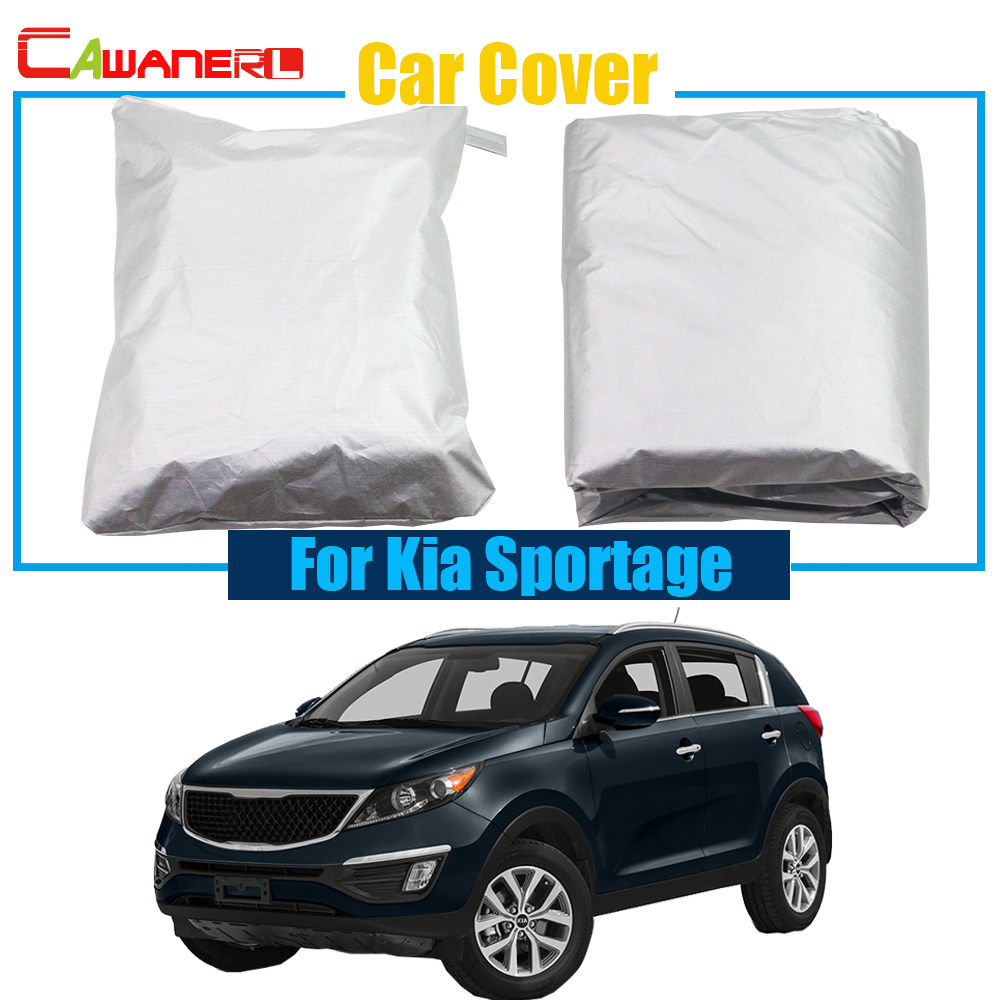 Cawanerl Car Cover UV Anti Snow Rain Resistant Protector Cover Sun Shade For Kia Sportage Free Shipping !-in Car Covers from Automobiles & Motorcycles on Aliexpress.com | Alibaba Group