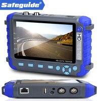Professional CCTV Testing Tool 5 Inch TFT LCD 5MP AHD TVI 4MP 3MP CVI CVBS CCTV Camera Tester Monitor Support PTZ UTP