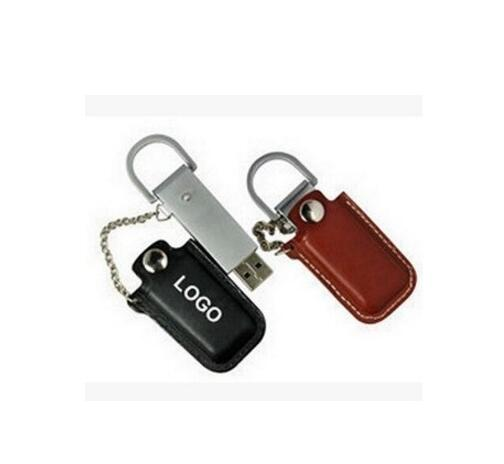 Creative leather USB 2.0 Flash Pen Drive leather Storage Card Disk 4g 8g 16g 32g 64g 128g Pendrive USB Drives Memory Stick-in USB Flash Drives from Computer & Office