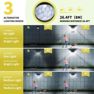 Image 5 - MPOW 30 Đèn LED Sân Vườn Năng Lượng Mặt Trời Cảm Biến Chuyển Động Ánh Sáng Ngoài Trời Đèn 3 Chế Độ Chiếu Sáng 270 Rộng Chống Nước Luz Năng Lượng Mặt Trời đèn Led Para Bên Ngoài