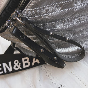 Image 5 - MENGXILU Luxus Handtaschen Frauen Taschen Designer Plaid Frauen Umhängetasche Damen Breiten Gurt bolsas de luxo mulheres sacos de design