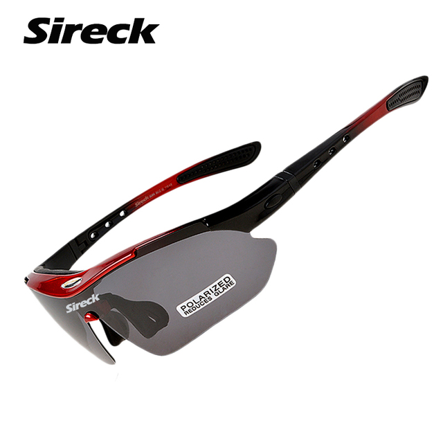 e163ed024097f Sireck Cycling Glasses Polarized Cycle Sunglasses Road Bike Bicycle Eyewear  Downhill Gafas Oculos Ciclismo Men Women