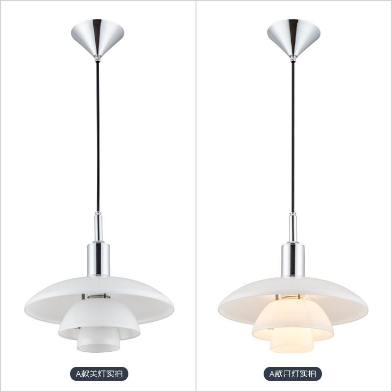 Image 3 - Nordic Designer Pendant Lights H3/4 Aluminum Loft Hanging Lamp for Living Room Bedroom Kitchen Home Decor Suspension Luminaire-in Pendant Lights from Lights & Lighting