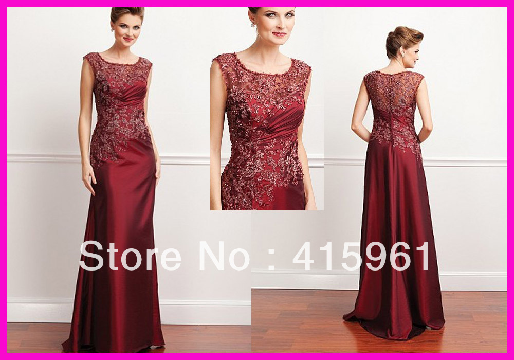 vestido de madrinha farsali evening dress Red Off The Shoulder Lace Long Taffeta 2019 mother of the bride dresses for weddings in Mother of the Bride Dresses from Weddings Events