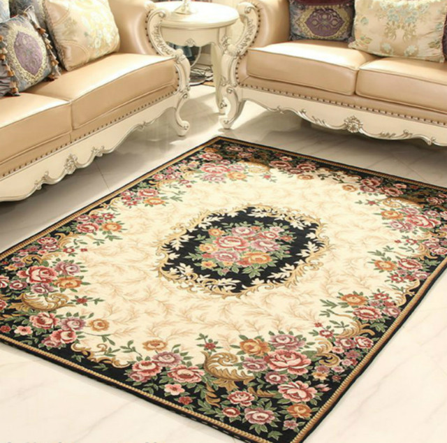 European Style Bedroom Carpet Sofa Tea Table Mats with Modern ...