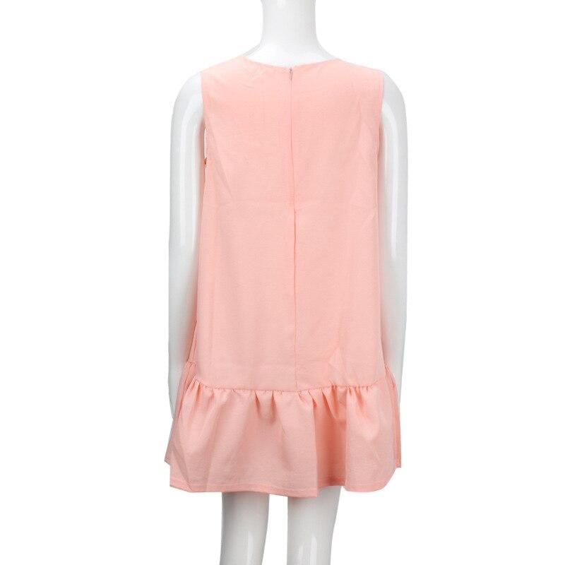 2017 damska vestidos sexy ruffles dress lato casual linia bez rękawów bodycon dress kobiety party plus rozmiar krótki mini suknie 12