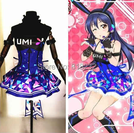 Amour Live école idole projet Cyber jeux vidéo Sonoda Umi allumer robe Slip robe t-shirt tenue uniforme Anime Cosplay Costumes