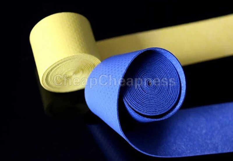 1Pc Fishing Rod Tennis Badminton Squash Racquet Sweatband Brief Convenient Anti-Skip Stretchy Overgrips Grip Tape