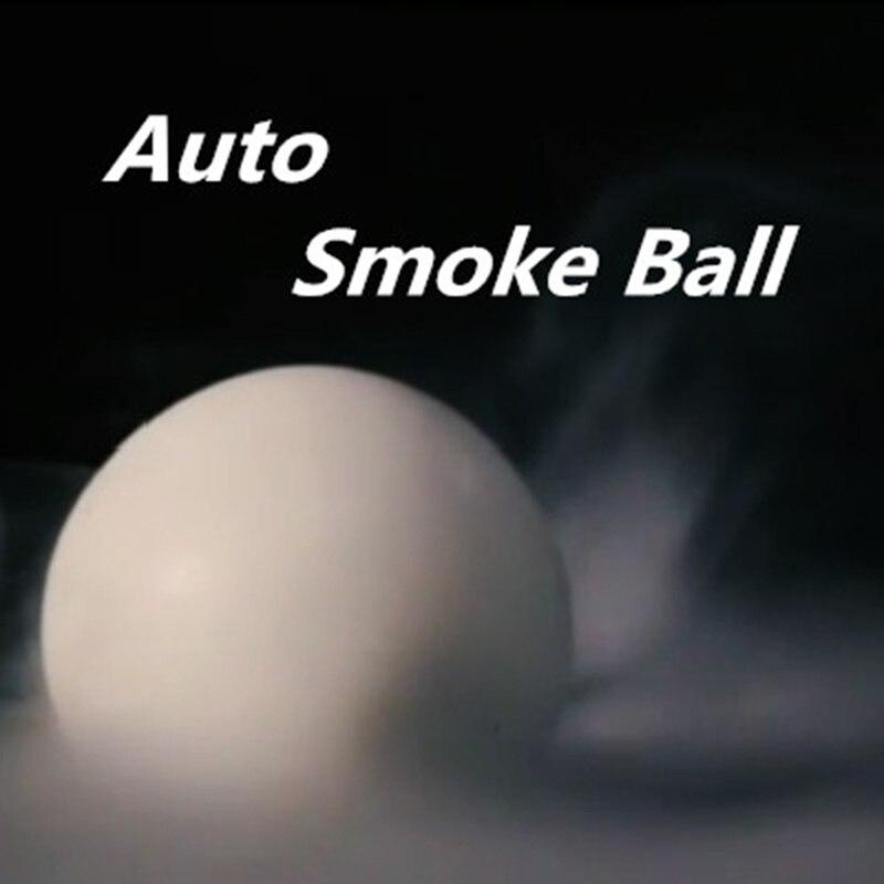 Auto fumée boule tours de magie drôle scène mentalisme soie disparaître pour balle Magia Illusions Gimmick accessoires pour magiciens professionnels