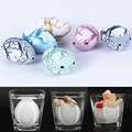 New 3 Pcs Light Color Expansive Growing Water Hatching Dino Dinosaur Eggs Magic Incubation Cute Kids Children Christmas Gift