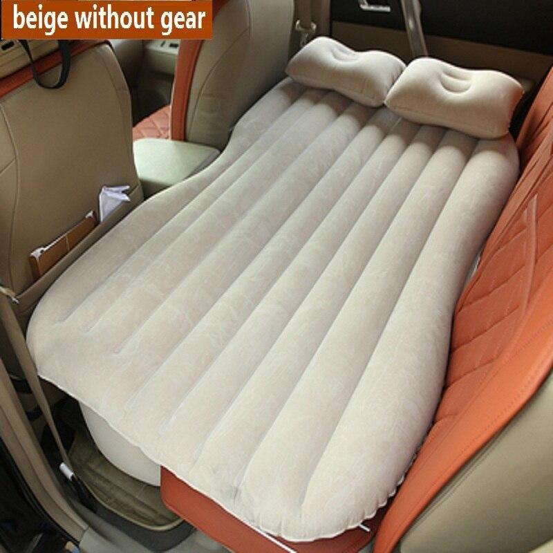 SUV colchoneta matelas gonflable voyage Camping voiture siège arrière repos matelas avec pompe à Air voiture lit voiture accessoires de voiture