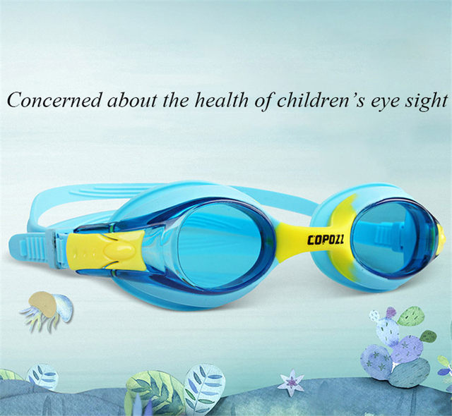 3f82d64094d9 Copozz Children Kids Waterproof Silicone Anti Fog Swimming Glasses Goggles  Eyewear Eyeglasses with Exquisite Packaging-in Swimming Eyewear from Sports  ...