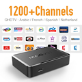 Mag 250 IPTV Box with Qhdtv Account 1200 Channels Arabic French Algerian Islamic Sky Full Live Sports Mag250 Europe Tv Receiver