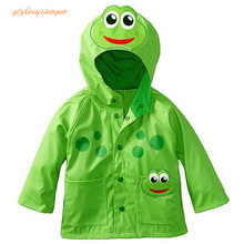 2016 New 6 color Baby Girls boys Coat Jacket Wind and Rain