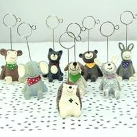 Free shipping 1 pcs per pack resin material dorable cute clips memo clip