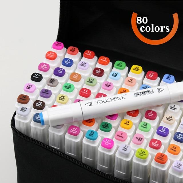 Copic Markers Touchfive Comics Art Marker Pens 80 Color Finecolour