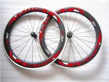 50 carbon Alloy Wheels Clincher 50mm Road Bike Alloy Braking Carbon Wheels 700C aluminum brake wheelset,Free shipping