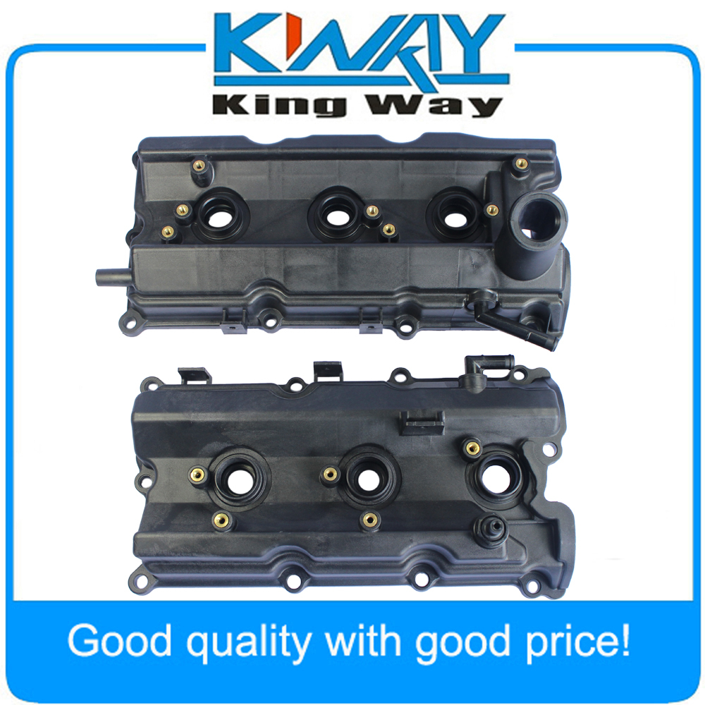 Free Shipping-New Engine Valve Covers Left & Right Fits for Nissan 350Z /03-06 G35 V6 3.5L 2003-2006 aluminum water cool flange fits 26 29cc qj zenoah rcmk cy gas engine for rc boat