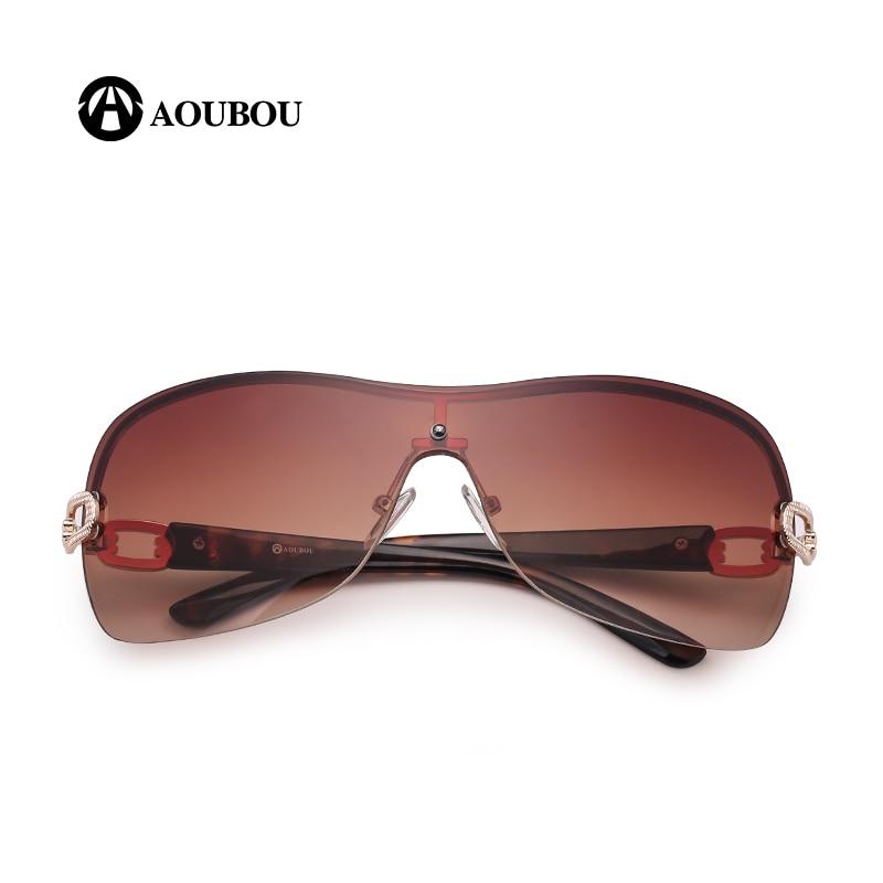 AOUBOU Luksuzne naočale za sunce bez rukava Ženska marka Dizajner s - Pribor za odjeću - Foto 4