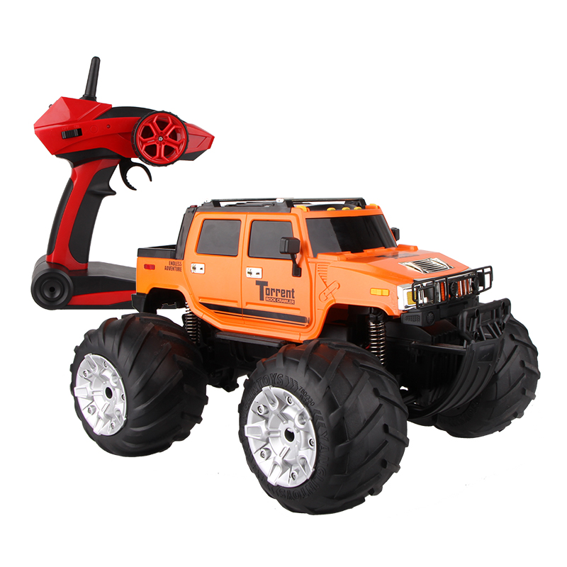 RC simulation off-road remote control car land and sea pickup truck 2.4GHz 1:12 climbing car model Electric vehicle toy remote control 1 32 detachable rc trailer truck toy with light and sounds car