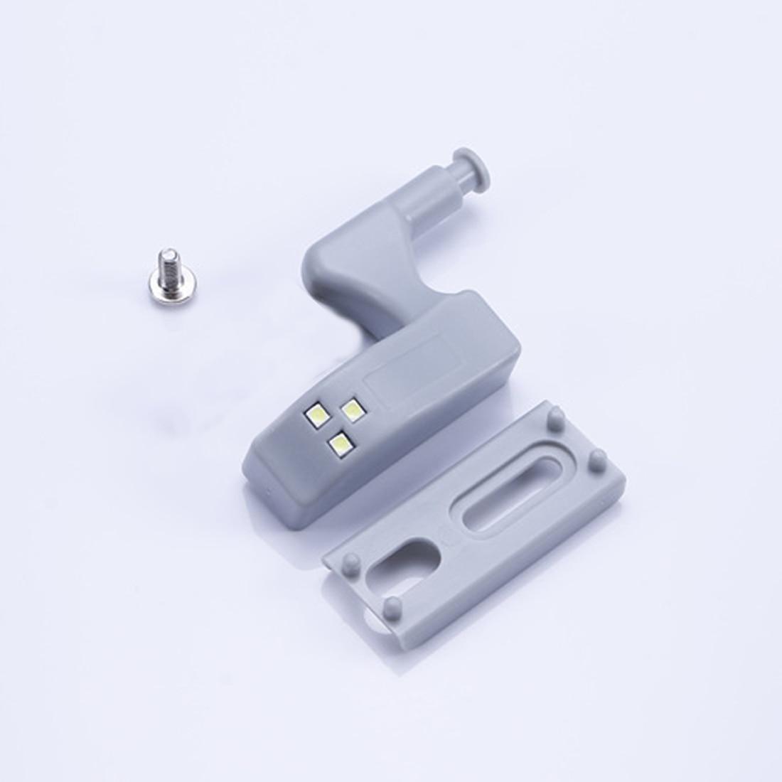 Nuovo 10 Pz 0.25 W Interno Cerniera Sensore di Luce LED Per Cucina Camera Da Letto Soggiorno Armadietto Armadio Guardaroba di Notte luci