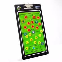 Football Soccer Coaching Board Tactics Plate Magnetic Teaching Tactical Command Straight Exercise