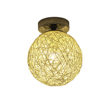 Modern Fashional DIY Handmde Wicker(Work) Ceiling lights E27 For Balcony Passageway/Aisle/Porch/Bedroom/Living Room(DX-50)
