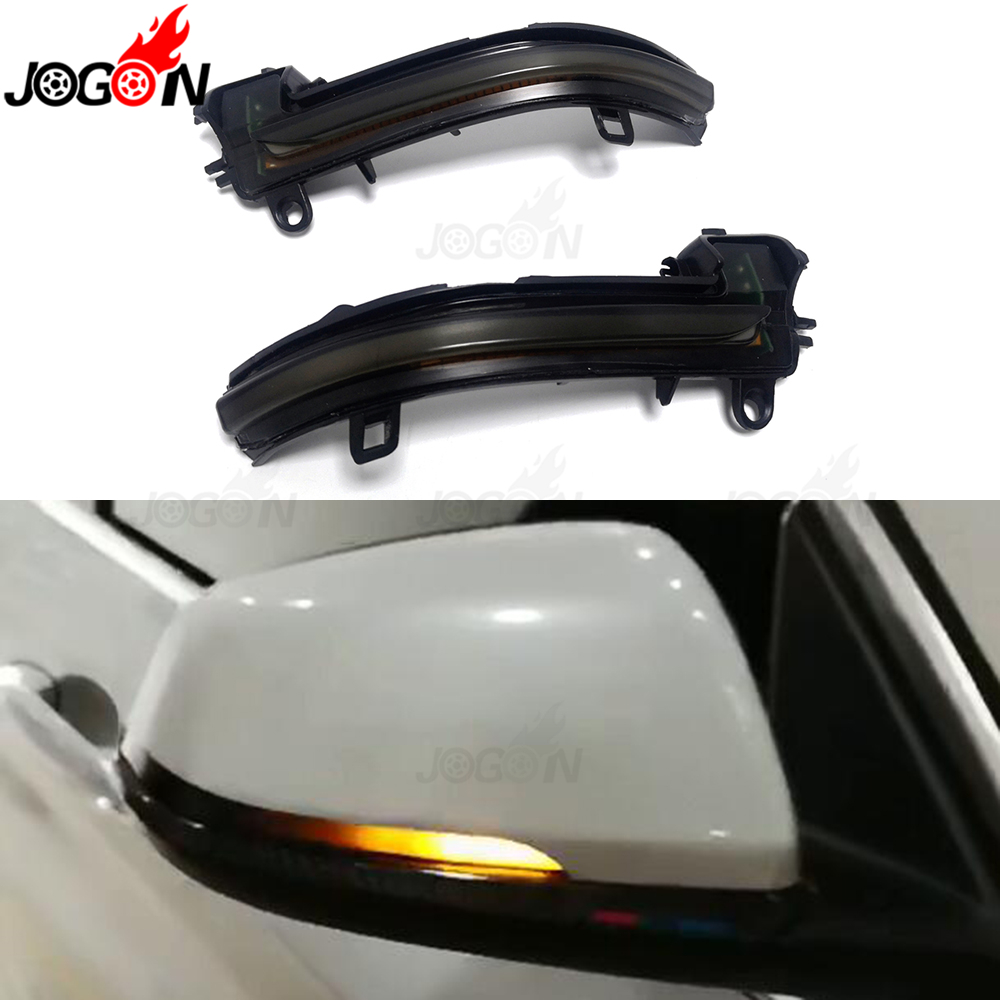 For BMW X1 F48 2016 2017 2018 2019 LED Dynamic Turn Signal Light Side Rearview Mirror
