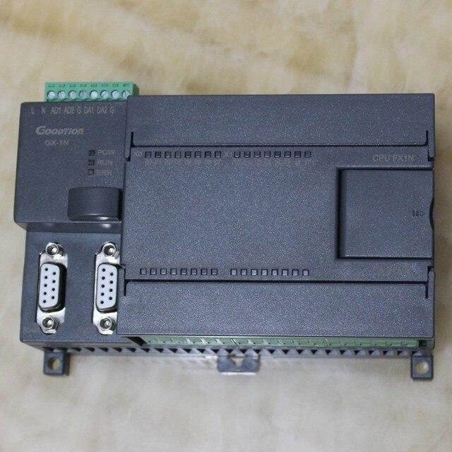 20MR FX1N FX2N 20MT 2AD 2DA PLC Контроллер с Делом, 12DI 8DO, 4 импульса rs485 modbus rtu для mitsubishi gx, можно добавить функции