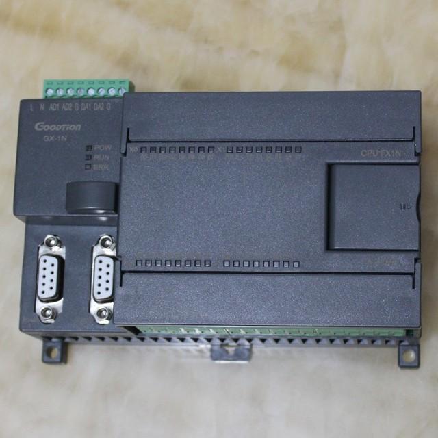 FX1N FX2N 20MR 20MT 2AD 2DA PLC контроллер с Чехол, 12DI 8DO, 4 импульса RS485 modbus rtu для Mitsubishi GX, можно добавить функции
