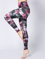 Yoga Pants Women Leggings Running Sports Jogging Tights Yoga Fitness Another Clear Blue Print Dot Snowflake