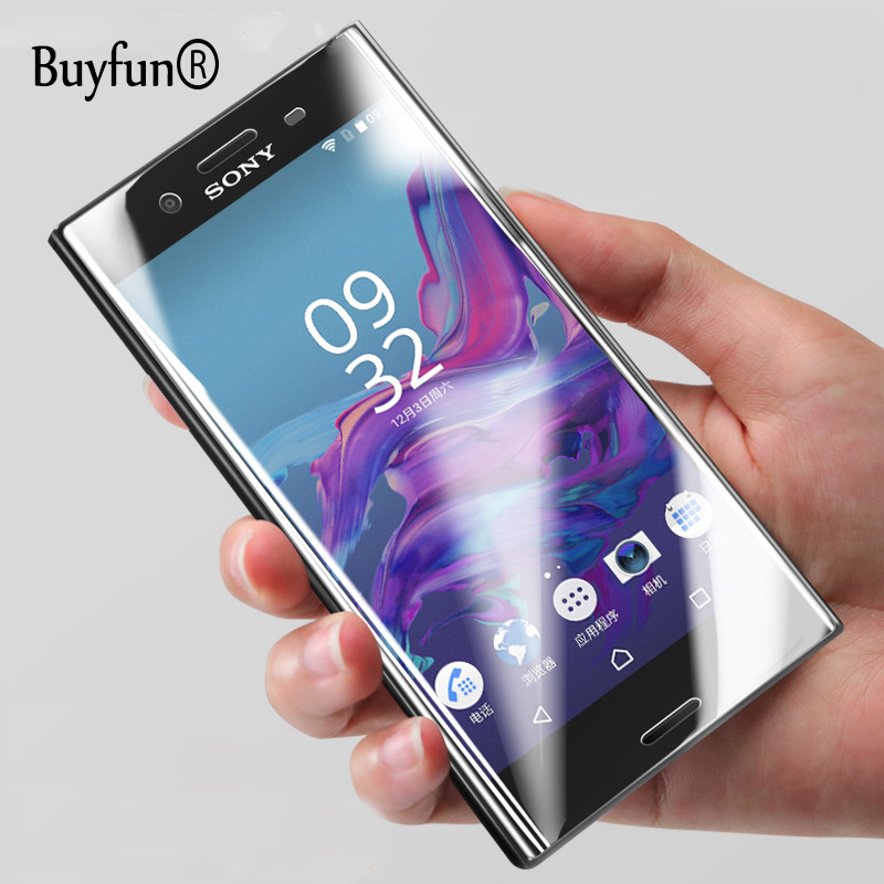US $2 23 20% OFF 4D Curved Edge Full Cover Tempered Glass For Sony XA ultra  phone Screen Protector For Sony X XZ XA1 Ultra thin Protective Film-in