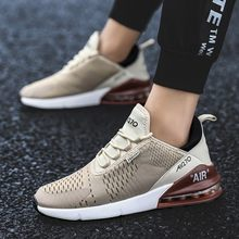 Men Pure color Models Breathable Sneakers Youth Fashion Comfortable Hommes Casual Shoes Adulte Chaussures drop shipping(China)