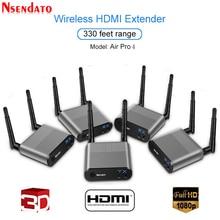 Measy Air Pro 4 100M/330FT 2.4GHz/5.8 GHz Wifi HDMI Audio Video Extenderเครื่องส่งสัญญาณ1 Sender 4ชุดเครื่องรับสัญญาณIR