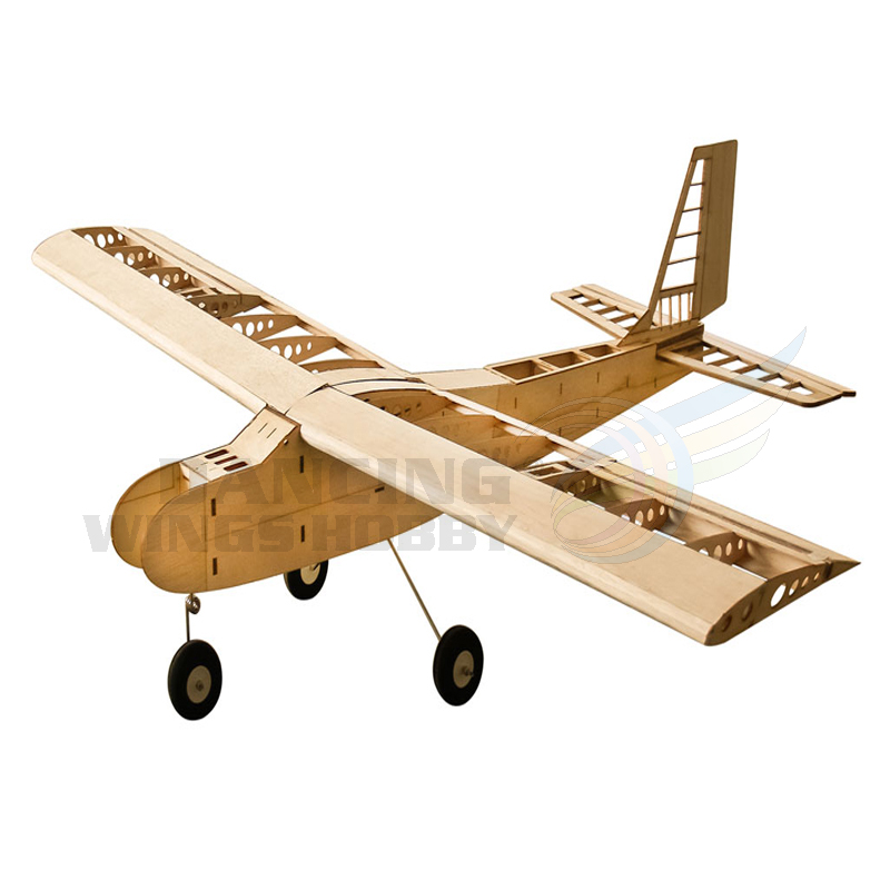 RC Airplane Model Balsawood Aeromodelling Wingspan 1600mm Balsa Wood Laser Cut Training Plane Kit T40