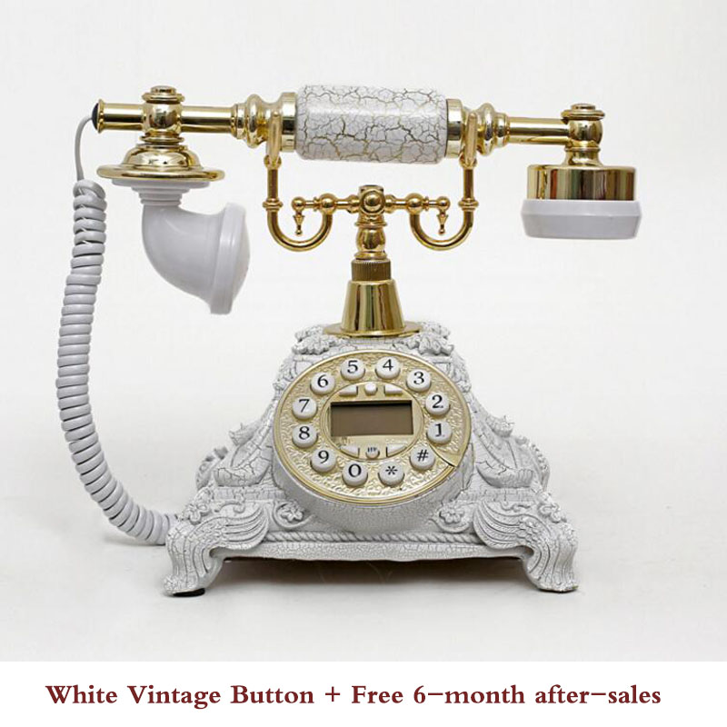 Vintage Telephone Swivel Plate Rotary Dial Telephone Antique Telephones Landline Phone For Office Home Hotel