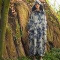SCUWLINEN Vestido 2016 Vestidos Das Mulheres da Cópia Do Vintage Botões de Placa de Algodão Acolchoado de Inverno Grande Capô Plus Size Ocasional Longo Robe S240