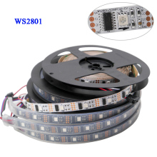 1m/3m/5m DC5V WS2801 magic RGB LED Strip Individually Addressable Full Color Chip 32LEDs/M IP30/IP65/IP67