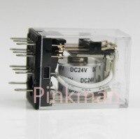 5pcs 220V 110V 12v 24V MINI Intermediate Relay Coil Power Relay JQX 13F 10A