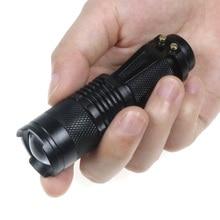 3-Mode 2000 Lumens Small Flashlight Handy Zoom Torch Use AA/14500 Battery Quality Waterproof Mini Q5 Portable Pocket Penlight