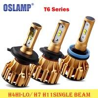 Oslamp H4 Hi Lo Beam Headlights Led Headlight H7 H11 Single Beam 6500K Car Headlight Bulb
