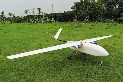 SkyEye 4.5M Airplane Wingspan UAV Electric Power White RC Model Plane Aircraft