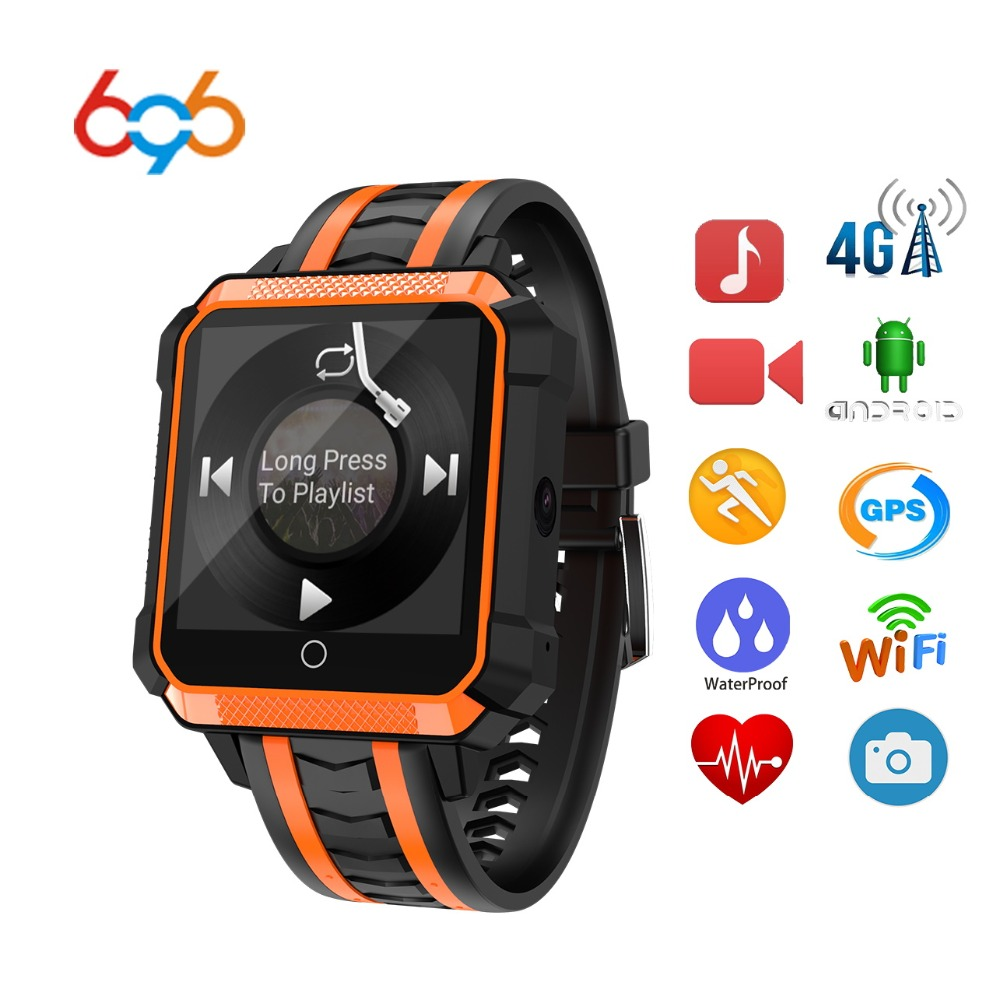 696 NEW H7 4G Smart Band Bracelet Airpressure IP68 Professional Waterproof 1GB+8GB Smart Watch Band Heart Rate For IOS Android mafam 4g sim card smart bracelet airpressure 1g 8g heart rate professional waterproof h7 smart band for iphone huawei xiaomi