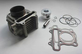 52.4mm CYLINDER piston big bore kit for GY6 125cc Scooter Moped ATV QUAD 139QMB 1P39QMB 147QMD GY6 50 52.4mm BOLT 15mm