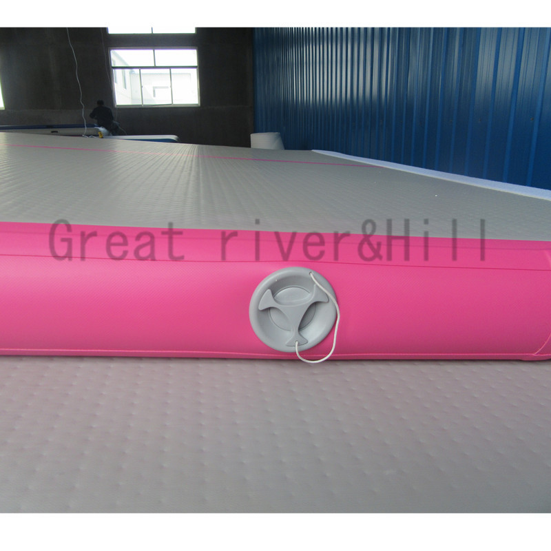 fedex shipping and tax includ hand made easy carry inflatable air track 8m x 1m x 10cm