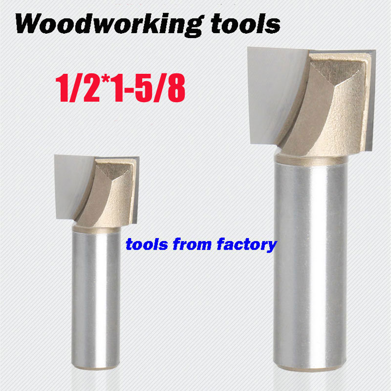 1pc wooden router bits 1/2*1-5/8 CNC woodworking milling cutter woodwork carving tool 1pc wooden router bits 1 2 5 8 cnc woodworking milling cutter woodwork carving tool