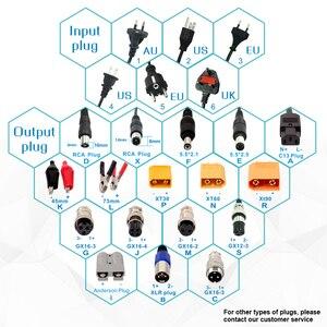 Image 2 - Зарядное устройство YZPOWER для литиевых батарей 100,8 в, 4 а, подходит для литиевых батарей 88,8 В, 24S, упаковка, алюминиевый корпус и дополнительная вилка
