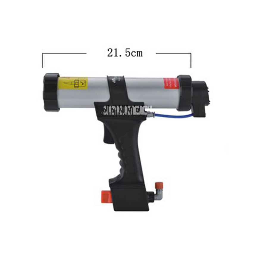 New Hot 310ML Sausage Type Pneumatic Glue Gun Soft Pack Pneumatic Caulking Gun Pneumatic Adjustable Speed Silicone Caulking Gun цена
