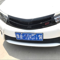 FRONT RACING GRILL GRILLE CAR STYLING NEW FRONT GRILL RACING GT GRILL FIT FOR TOYOTA COROLLA 2014 2016