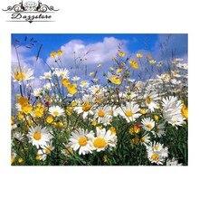 5d diamond painting cross stitch kits embroidery diy mosaic paintings Home Decor Little Daisy